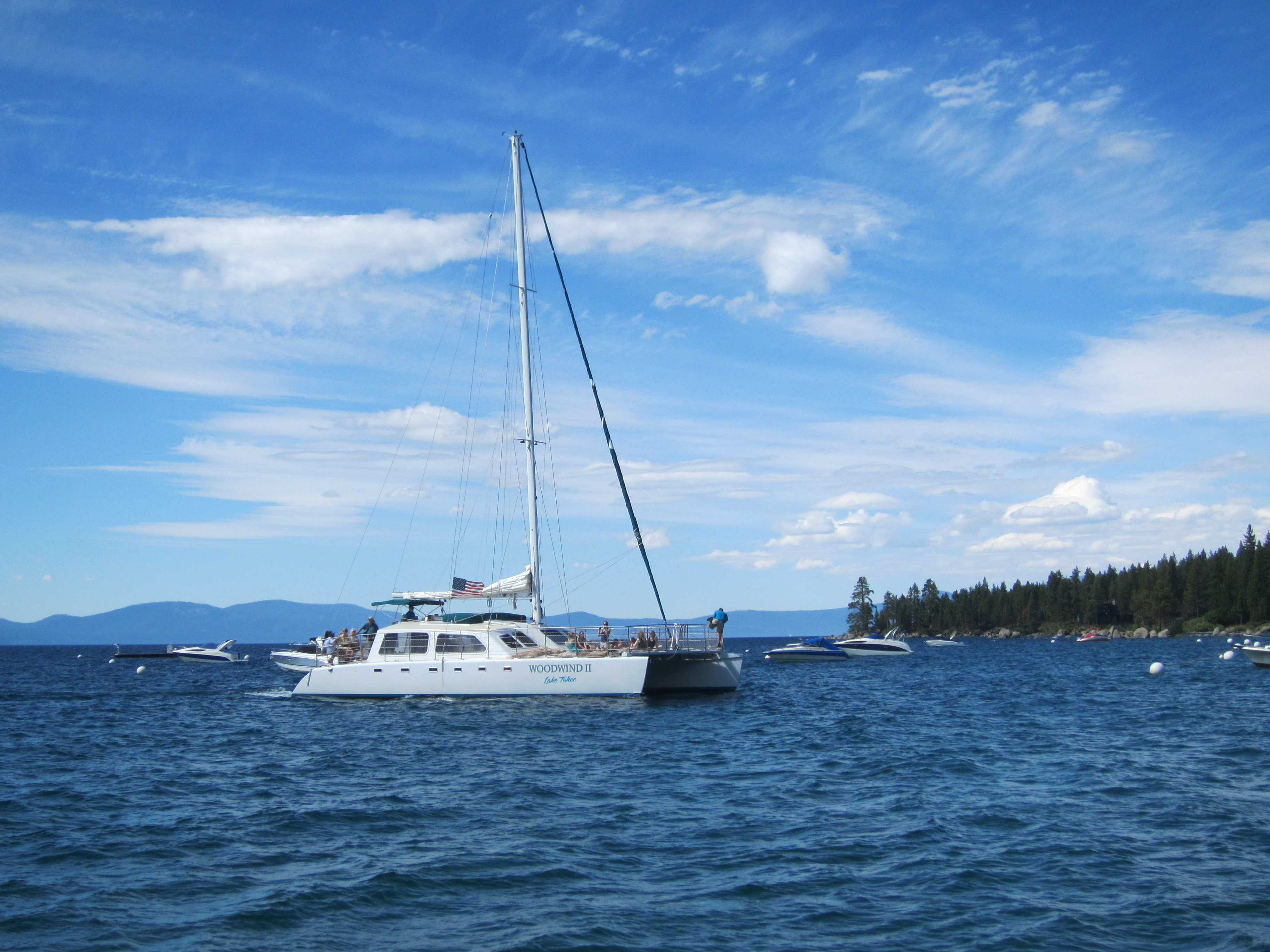 Cruising On Lake Tahoe The Adventures Of Allie Mark A